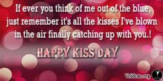 Voidcan.org shares with you Happy Kiss Day sms, quotes, images, wishes and gift ideas to make your Kiss Day special.