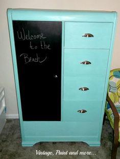 Retro Armoir - 37 DIY IDeas for Decorating Your Teenage Girl's Bedroom - Big DIY IDeas