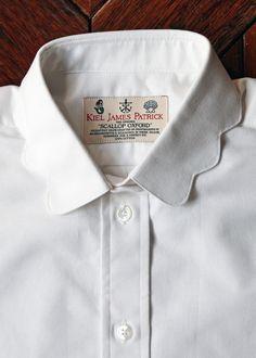 "kieljamespatrick: "" The Original Scallop Oxford. Made in Rhode Island """