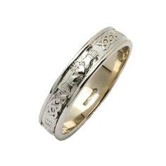 Ladies Silver Narrow Rounded Claddagh Irish Wedding Ring - Size 5.5 Fado,http://www.amazon.com/dp/B00791V29G/ref=cm_sw_r_pi_dp_ZjU2sb12CMZW2T11