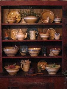 pottery and bowls