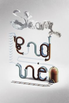 STEAM ENGINE - Graphic travelling, online showcase of François Leroy, Illustration/Graphic Design/ Art Direction