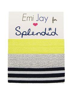 @Emi-Jay, Inc. for Splendid hair ties. #earnyourstripes