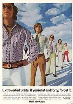If you're fat and forty forget it, you'll never be as groovy as these guys.