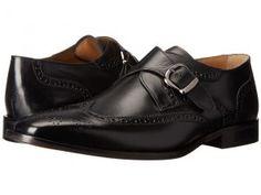 Florsheim Sabato Wingtip Monk (Black Smooth) Men's Lace Up Wing Tip Shoes