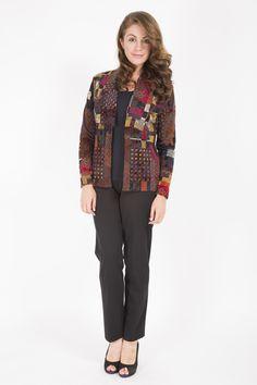 Bellenisa Intarsia Print Jacket - €69.95