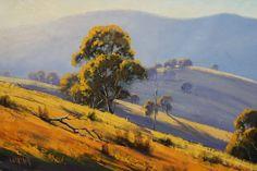 Солнечные пейзажи австралийского художника Graham Gercken: 19 насыщенных красками и светом работ - Ярмарка Мастеров - ручная работа, handmade