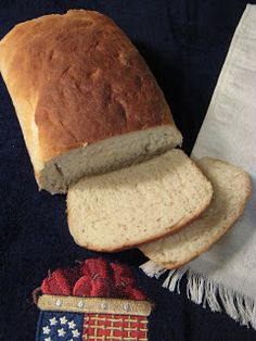 Fake-It Frugal: Amish White Loaf Bread - One for Now, One for the Freezer