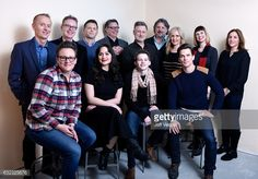 The cast and crew from the film 'Walking Out' pose for a portrait in the WireImage Portrait Studio presented by DIRECTV during the 2017 Sundance Film Festival on January 21, 2017 in Park City, Utah.