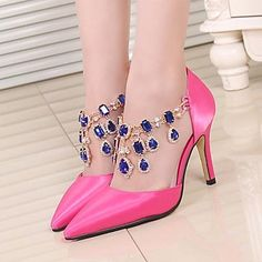 Women's Shoes Pointed Toe Stiletto Heel Pumps Dress Shoes More Colors available – AUD $ 78.64