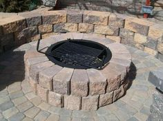 Pavestone Fire Pit with Cover Pavestone Fire Pits Pinterest