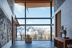 Peter Marino, considering one of the best interior designers in the field, is confidently crafting his ultimate ski getaway.