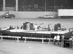 Beatles on Stage; 1965 Shea Stadium the Beatles' Biggest Concert – The First Rock Concert Ever