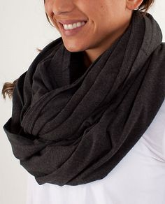 Lululemon deja vu scarf...Another product I think I might need this winter :).