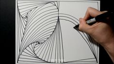 Illusion Drawings, Zentangle Patterns, Paradox, Art Therapy, Illusions, Cool Stuff, Day, Youtube, Optical Illusions
