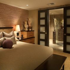 Bedroom Photos Mahogany Entrance Doors, sliders. Perfect for bathroom private entry.