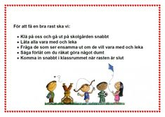 rastförväntningar Teacher Education, School Teacher, Classroom Organization, Classroom Management, Classroom Ideas, Learn Swedish, Swedish Language, Adhd And Autism, 1 An
