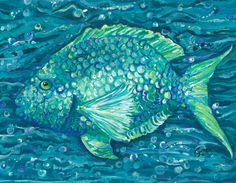 another too cute fish print!