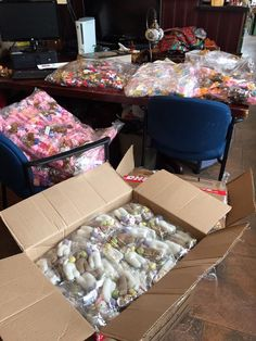 Our latest shipment from Peru arrived. Swimming in lots is soft alpaca Easter ornaments & finger puppets. Yippee