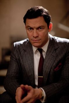 Dominic West in The Hour, he also starred in the critically acclaimed The Wire