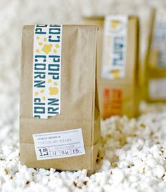 """Yellowtree farm is a specialty organic farm producing rare and amazing foods out of St. Louis, MO. This packaging for their popcorn, popcorn grits, and popcorn flour begins with a 100% recycled and compostable bag..."