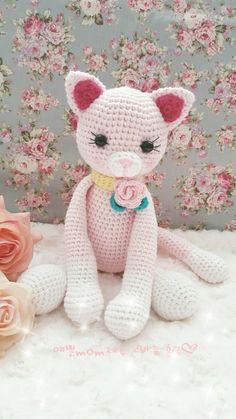 고양이 인형 만들기.과정샷,도안 : 네이버 블로그 Doraemon, Knit Patterns, Diy And Crafts, Hello Kitty, Teddy Bear, Dolls, Knitting, Cats, Animals