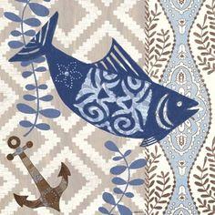 Barrier Reef Fish by Jennifer Brinley | Ruth Levison Design