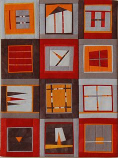 Example of the work of Erin Wilson, from an article entitled 'Erin Wilson's Quilted Short Stories', which can be found at The Textile Blog.