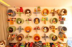 cool kid's room storage