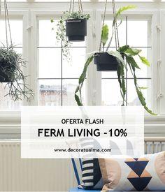 Descuentos especiales en ferm Living, sólo hasta el domingo 22 en la shop  https://www.decoratualma.com/es/98-ferm-living?id_category=98&n=185