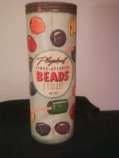 Playskool Jumbo Wood Beads - I remember the strings were like giant shoelaces and would get really filthy