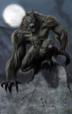 Exactly how I like my Lycans to look - and exactly what you'll find in my dark fantasy/horror novel, The Dark World. Fantasy Creatures, Mythical Creatures, Dark Fantasy, Fantasy Art, Fantasy Fiction, Wolf Hybrid, Werewolf Art, Alpha Werewolf, Vampires And Werewolves