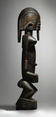 Dogon Female Figure, Ogol Circle of Artists, Mali dege dal nda. Height: 24 1/2 in (62.2 cm)  Henri Kamer or René Rasmussen, Paris
