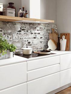 Die 25 besten Bilder von Grifflose Küchen in 2019 | Home kitchens ...