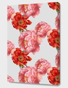 """Vintage Floral"", Numbered Edition Canvas Print by laura redburn - From $69.00 - Curioos"