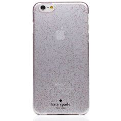 Kate Spade Glitter Iphone 6 Plus Case ($45) ❤ liked on Polyvore featuring accessories, tech accessories, phone cases, cases, phone and kate spade