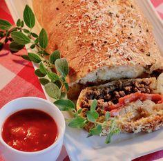 Beefy Pizza Roll-Up    #MyAllrecipes #AllrecipesAllstars #AllstarMarchMadness