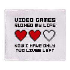 Video Games Throw Blanket