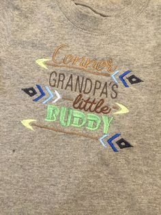 A shirt for Connor.