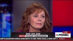 Actress Susan Sarandon destroys Hillary Clinton