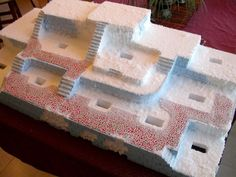 Image result for making accessories for christmas villages