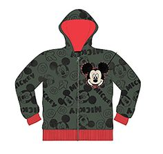 Disney Baby Mickey Mouse or Minnie Mouse Toddler Fashion Sweat Shirt Hoodie 3T *** BEST VALUE BUY on Amazon