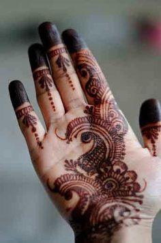 Mehandi Designs Mehandi Design For Hand, Simple Mehndi Designs, Bridal Mehndi Designs, Mehandi Designs, Henna Mehndi, Henna Art, Mehendi, Hand Henna, Henna Hands