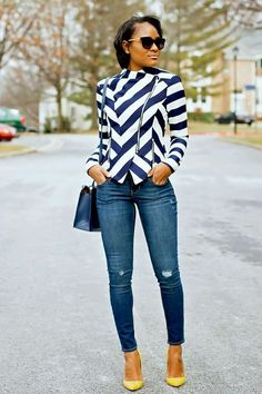 Casual Stylish Business Outfit for the Ladies Looks Casual Chic, Smart Casual Work Outfit, Casual Dressy, Casual Jeans, Dress Casual, Chic Outfits, Fall Outfits, Look Fashion, Autumn Fashion