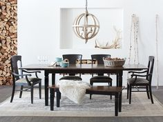 Toulon Extension Dining Table Arhaus Furniture Set Kitchen Chairs