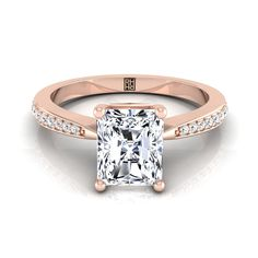 A gemstone solitaire may be the essential diamond engagement ring. Although other diamond engagement ring settings fall and rise in recognition, a solitaire ring is really a classic with constant, … Radiant Cut Engagement Rings, Elegant Engagement Rings, Cushion Cut Engagement Ring, Wedding Rings Solitaire, Princess Cut Engagement Rings, Wedding Rings Vintage, Rose Gold Engagement Ring, Solitaire Engagement, Wedding Jewelry