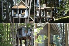 A romantic cottage | 17 Tree Houses For Adults