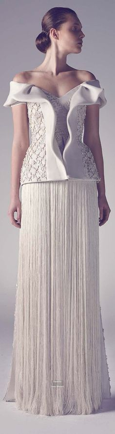 Ashi // Couture Spring Summer 2015 Gala Dresses, Formal Dresses, Wedding Dresses, Ashi Studio, Couture Details, Facon, Couture Collection, White Fashion, Beautiful Gowns