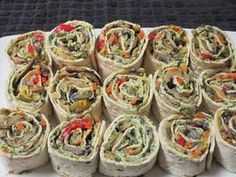 Roasted (Or Grilled) Vegetable Wraps