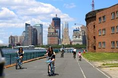 Where to go with kids in NYC - how about biking on Governor's Island?
